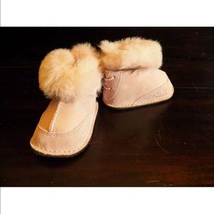 New Girls UGG BABY BOO Pink Infant Toddler Boots